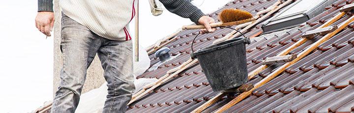 wat te doen bij lekkage dak